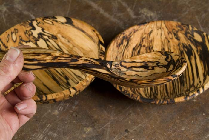 Sean Hellman Bowls From Heavily Spalted To Creamy White