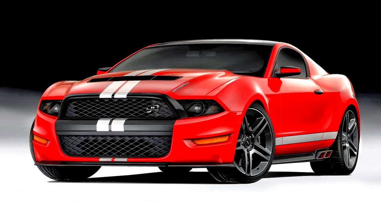 ford mustang shelby gt performance design  style