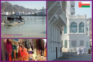 Zoek de hoogbouw. Dit is toch echt de hoofdstad van Oman...