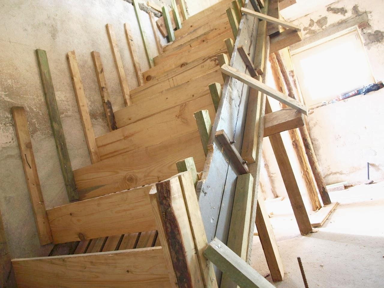 remont starego domu szalunek schody murator
