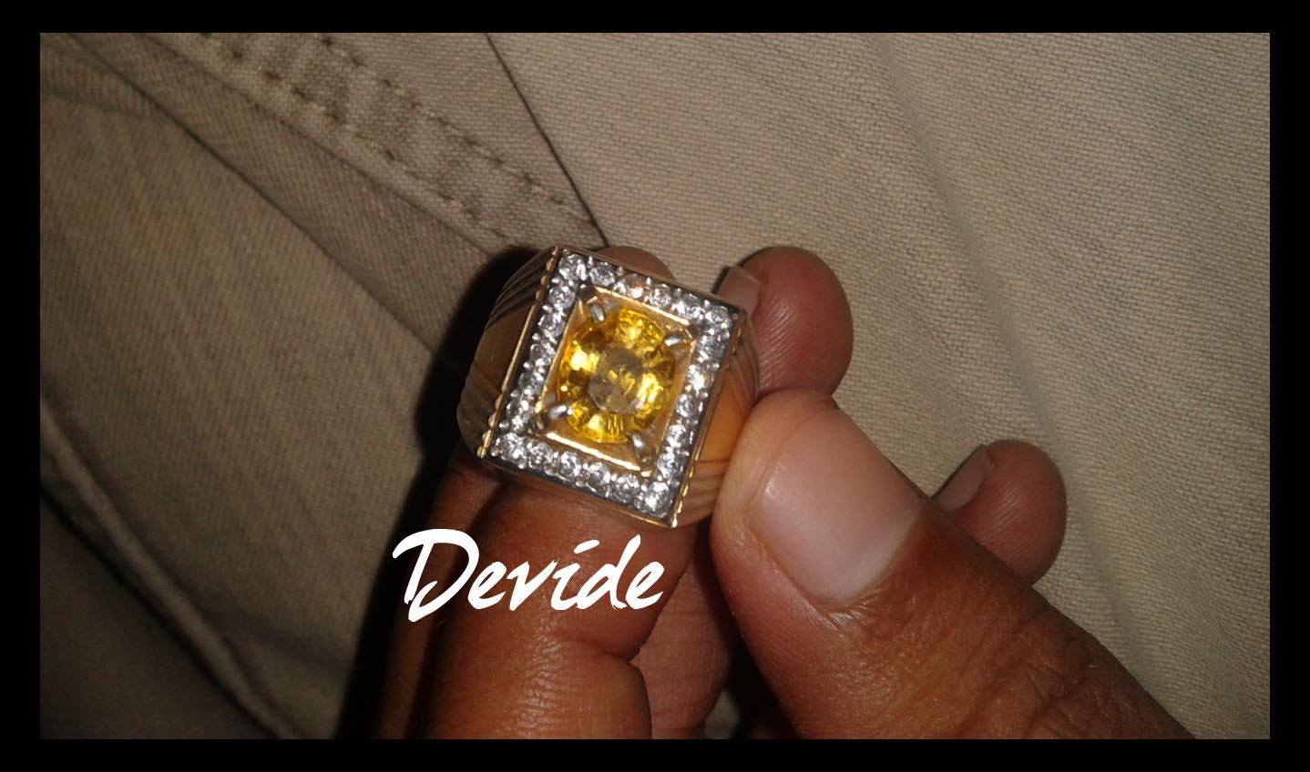 jual beli batu cincin murah batu yakut kuning langka