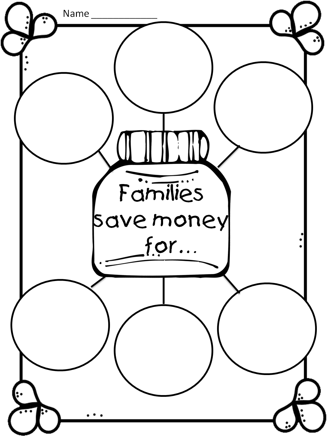 worksheet Wants And Needs Worksheets first grade wow money game and family wants needs family7 png