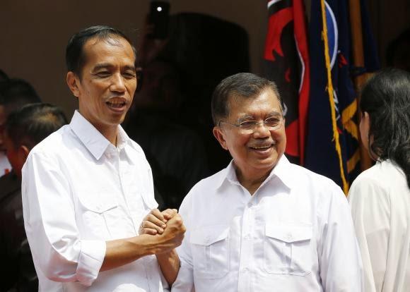 Jokowi - JK © Reuters