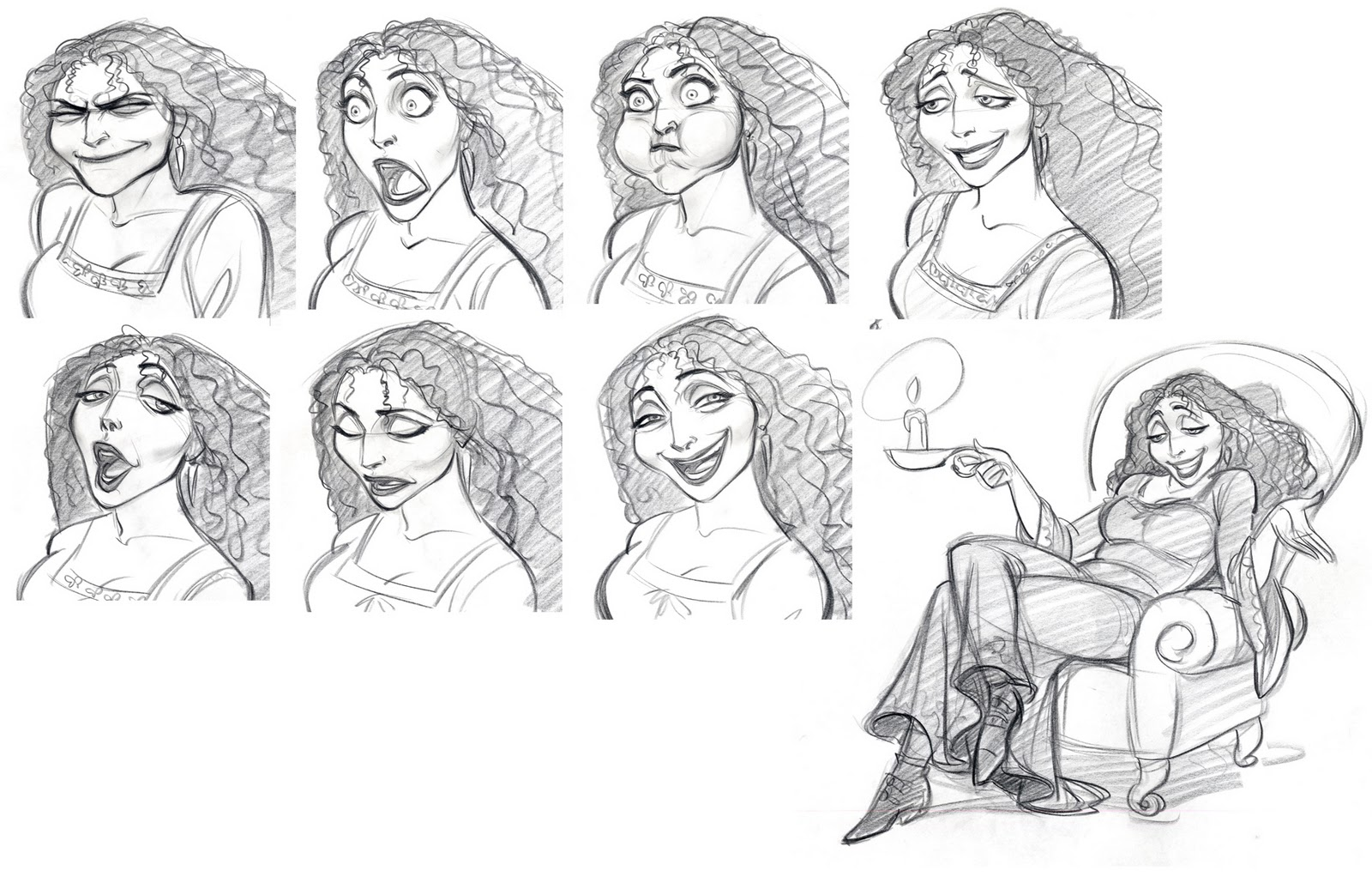 Character Design Up : Cartoon concept design tangled sketches and characters