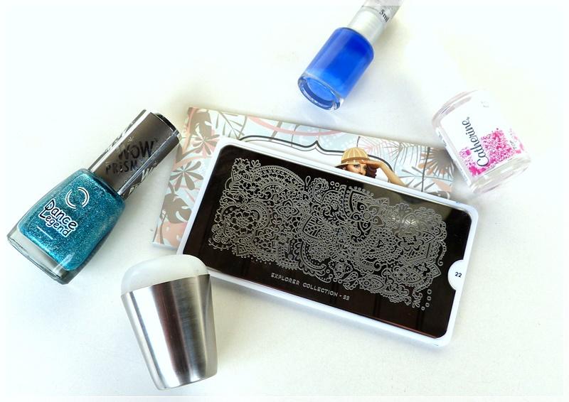 verwendete nail art Produkte