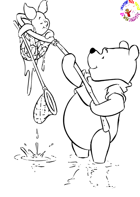 Desenhos Para Colori Pooh desenhar
