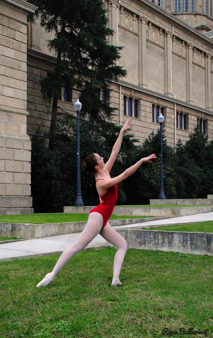 fotografía de ballet