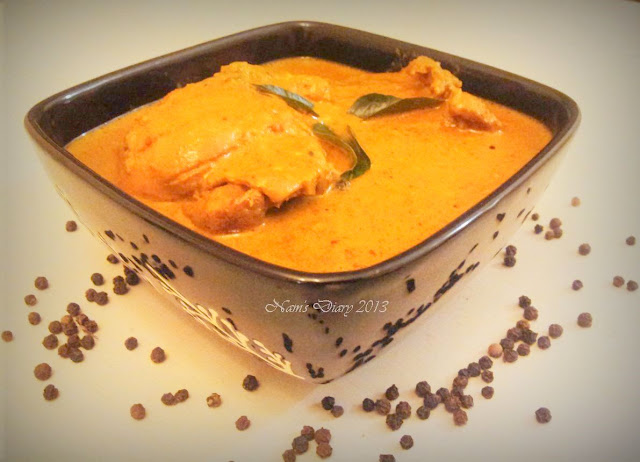 Spicy Chicken Curry with extra gravy