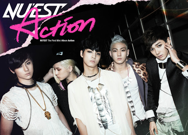 [Discografia] NU'EST - Action [1er Mini Album] ACTION