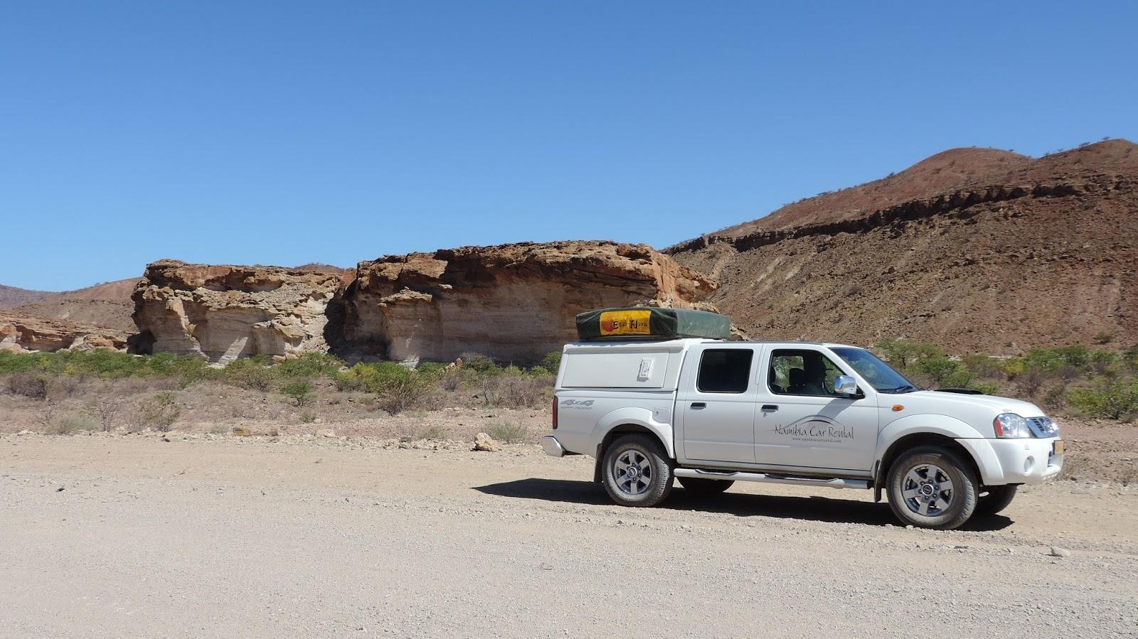 Namibia car rental 4x4 camping