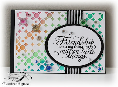 Diana Nguyen, Quietfire Design, friendship, spellbinders