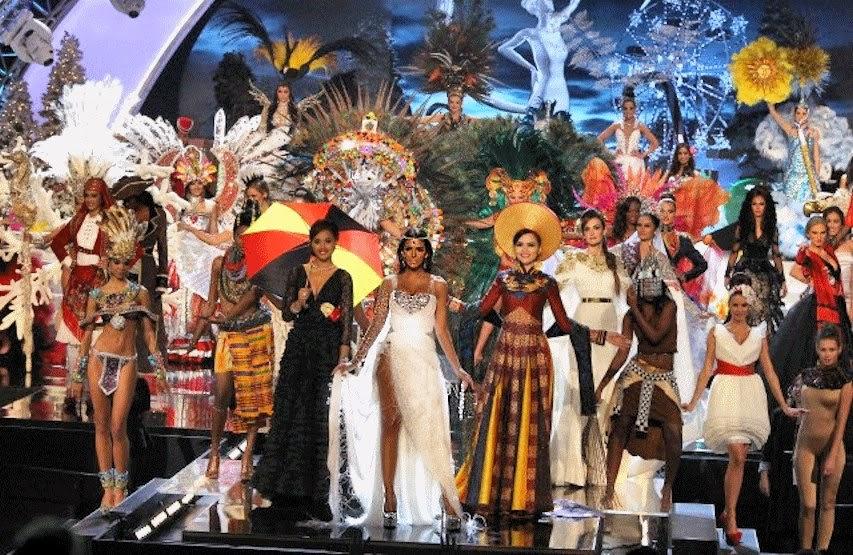 16 Besar Kontestan Miss Universe 2012