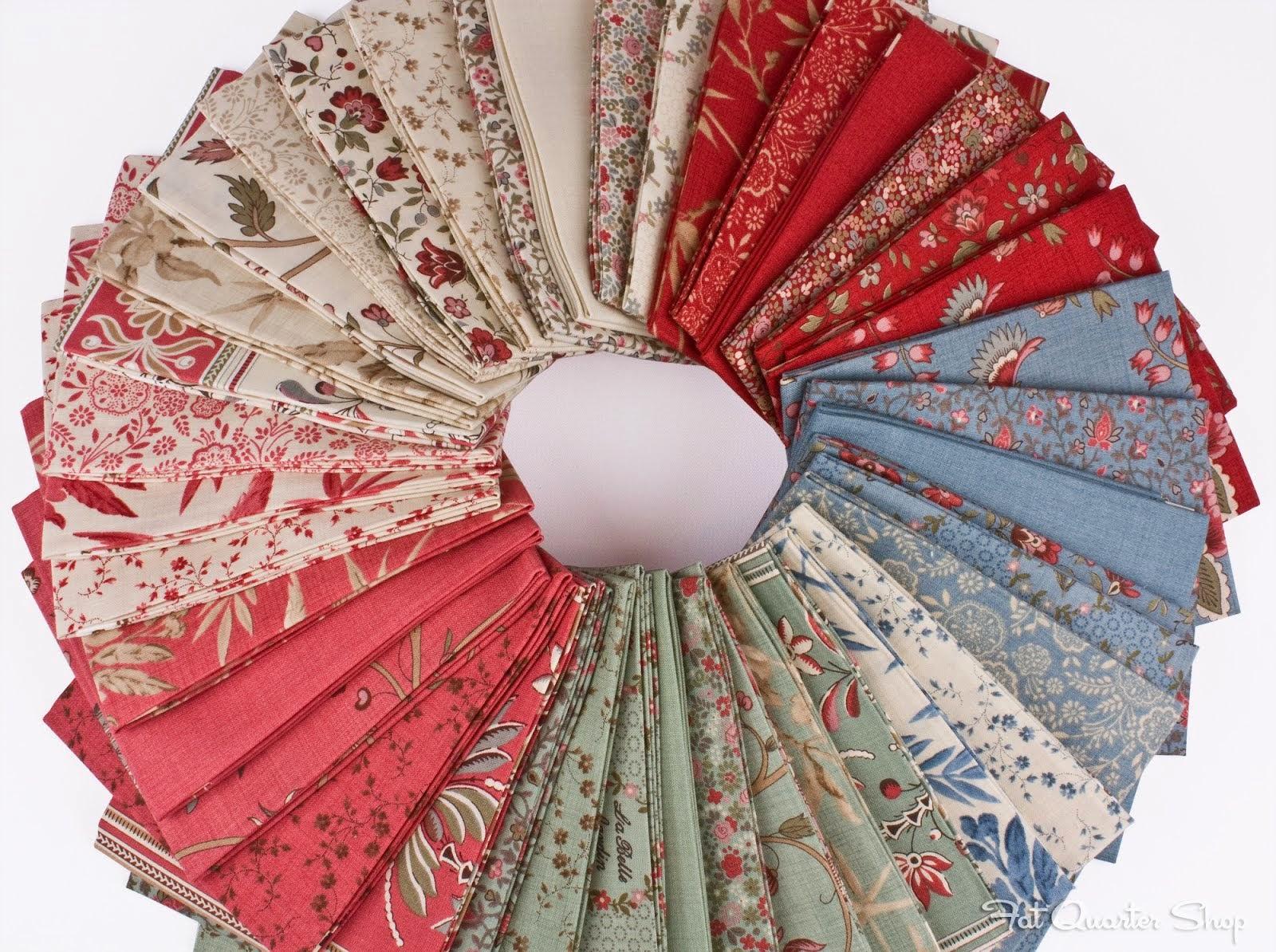 New fabrics have arrived for La belle fleur