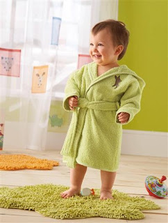 vertbaudet bathrobe