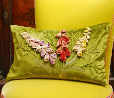 foxglove cushion