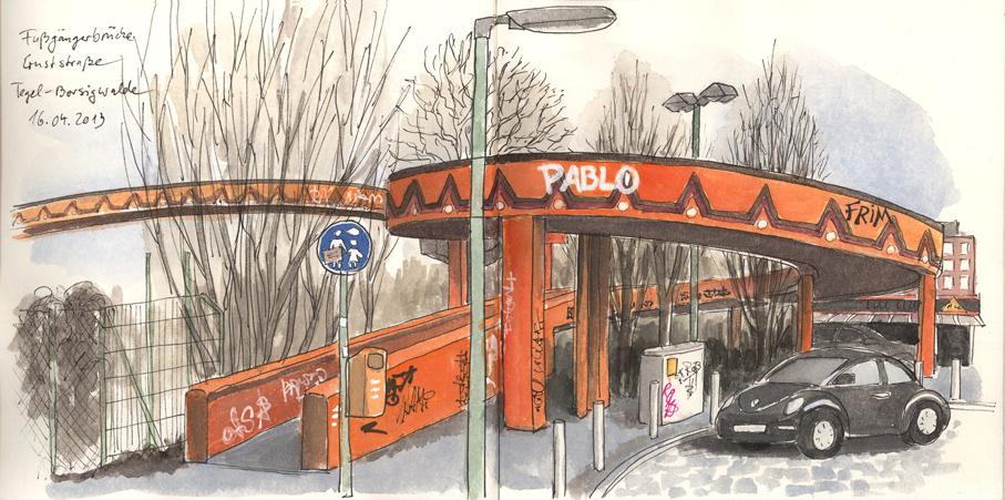 Urban Sketchers Germany: April 2013