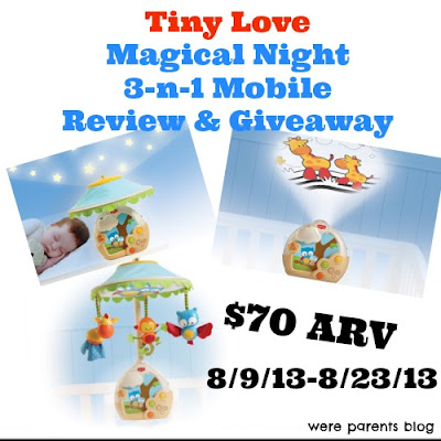 tiny love magical night mobile instructions