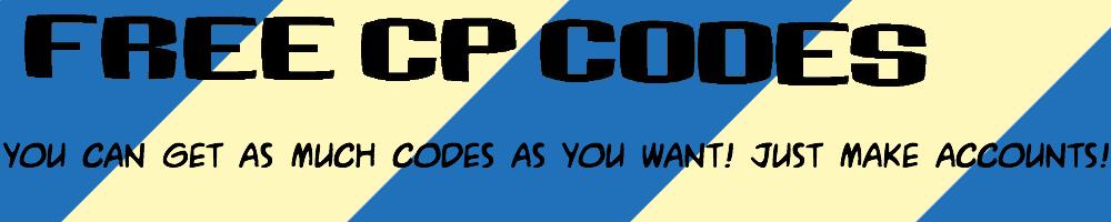 free cp codes