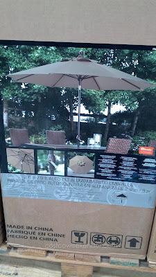 Sunbrella 9 ft Aluminum Patio Umbrella for your patio or outdoor deck