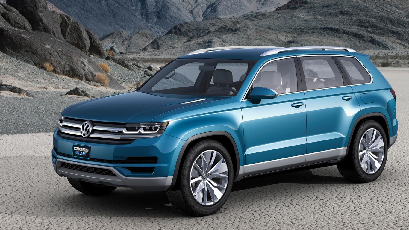 Volkswagen displayed new SUV concept at Detroit Auto Show