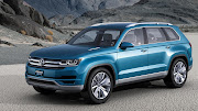 Volkswagen CrossBlue concept SUV. Volkswagen has unveiled a new SUV concept .