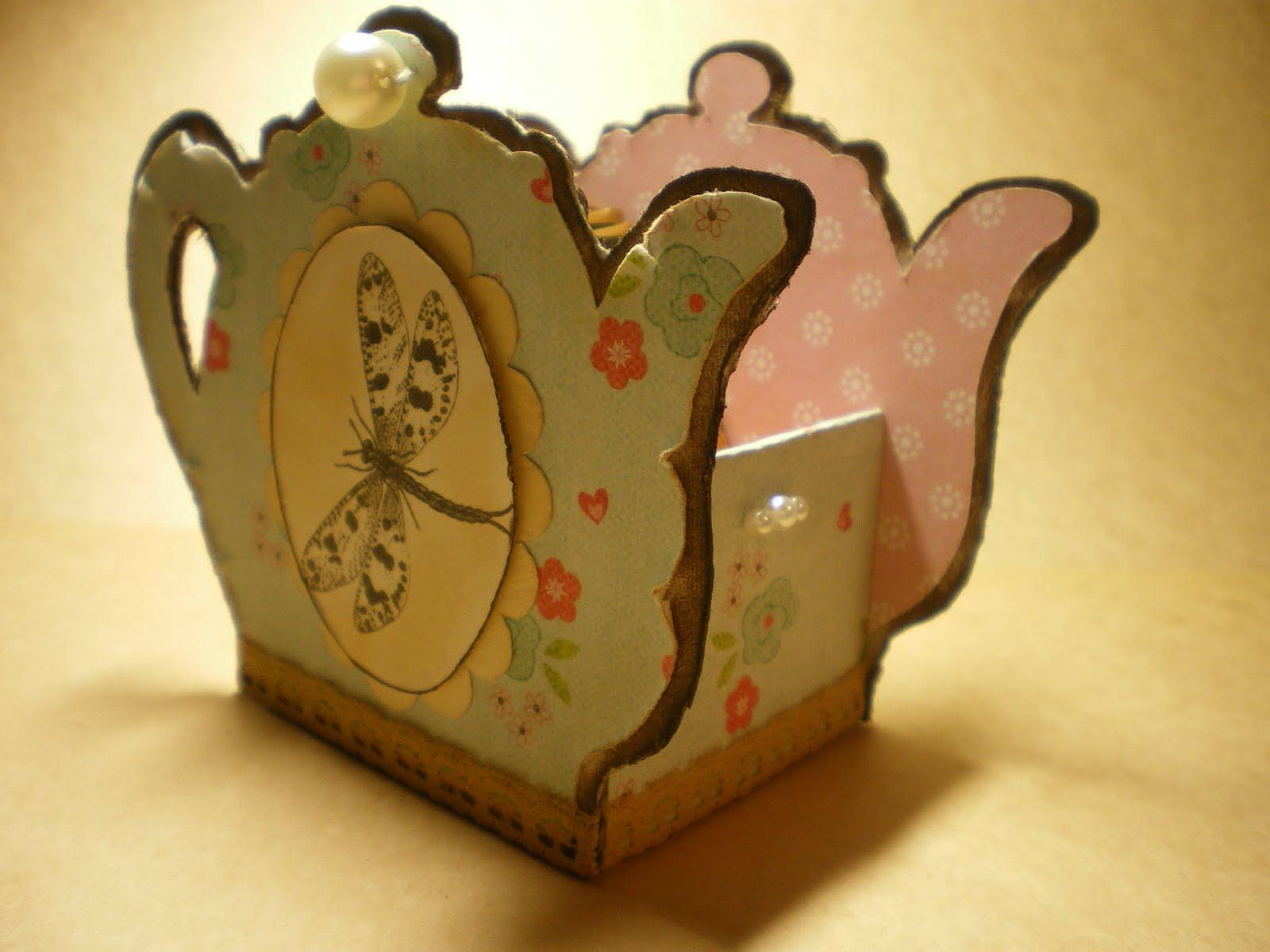 Чайник для чайных пакетиков своими руками мастер класс из картона
