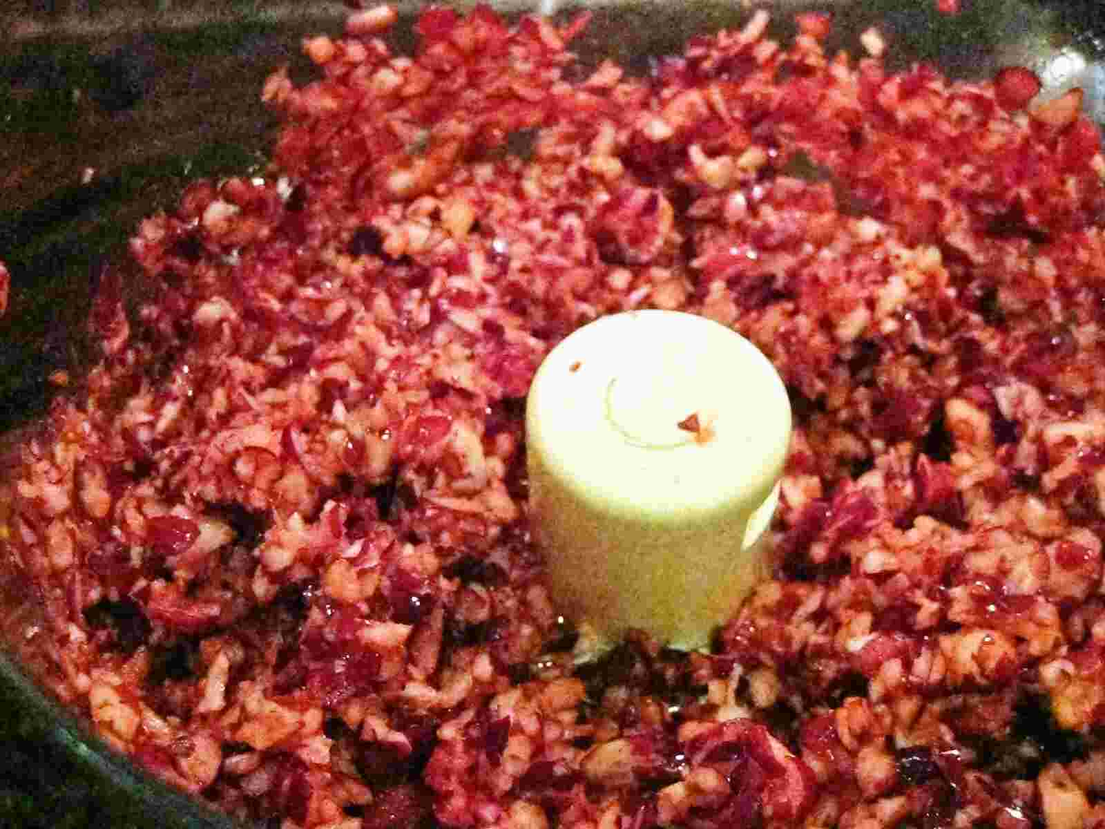 Recipes for Tom: Fresh cranberry relish