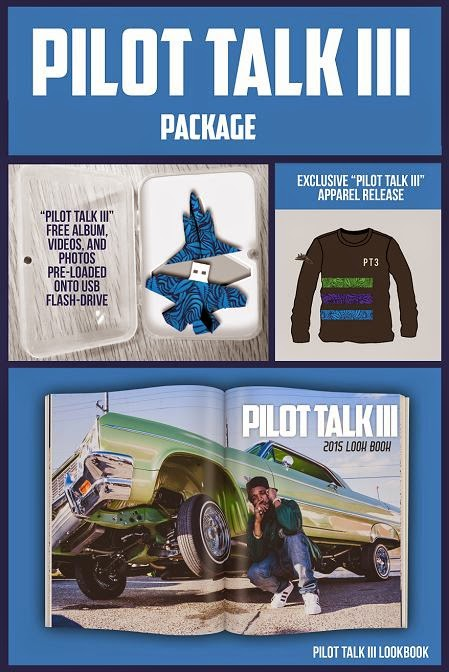 Curren$y / Currensy Pilot Talk 3 $100 album package USB