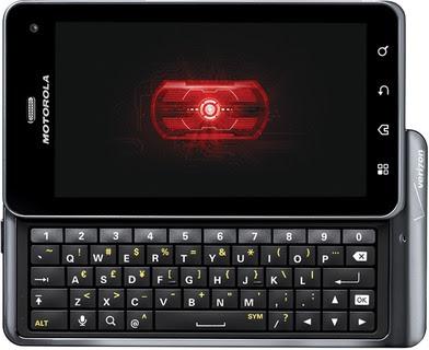 Spesifikasi Motorola Droid 3 XT862