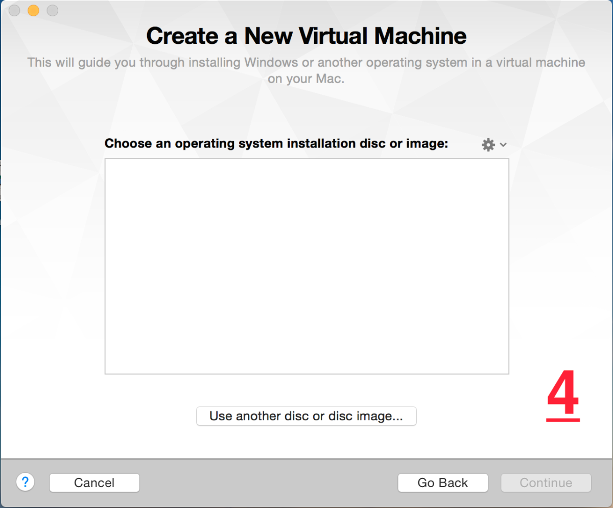 wmware fusion 7 pro create a new virtual machine