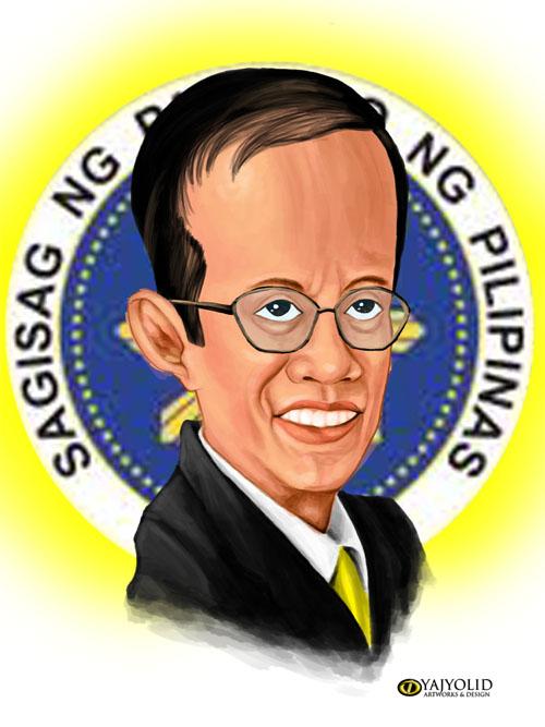 Benigno Aquino Iii Drawing Noynoy Aquino Iii