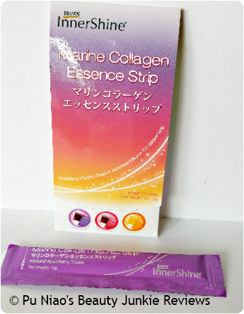 Brand's Innershine Marine Collagen Essence Strip Natural Acai Berry Flavour