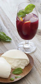 Beet Lemonade + Burrata