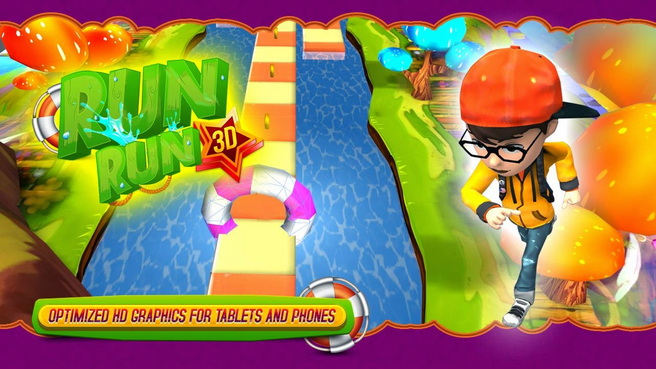 RUN RUN 3D Game | Andromin