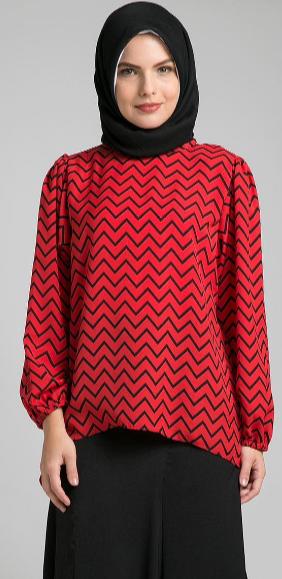 Contoh Desain Baju Muslim Terbaik 2015
