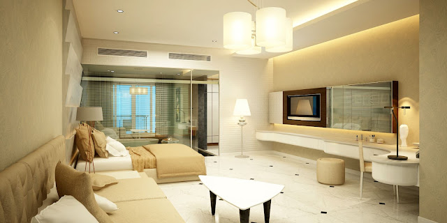 Phong cách hiện đại và màu sắc hài hòa tại căn hộ Bungalow