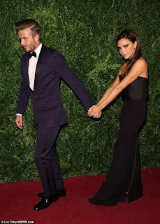 Victoria Beckham denies break up stories with David Beckham.
