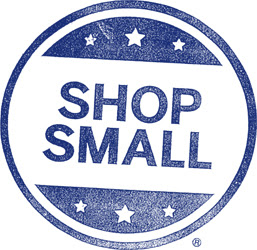 Shop Small button, American Express