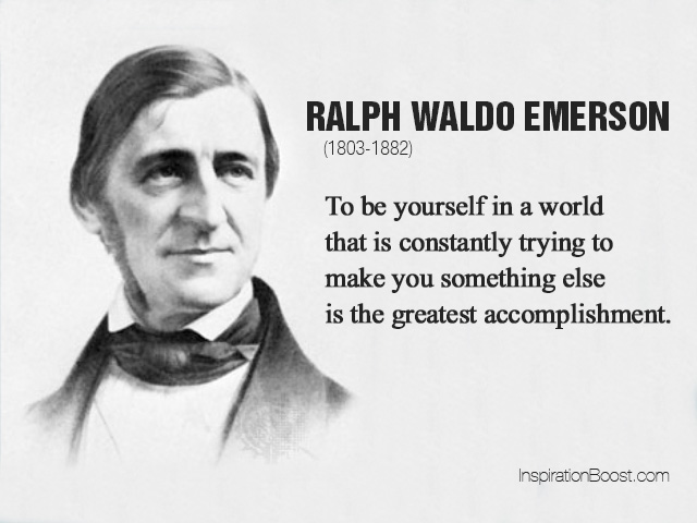 transcendentalism in self reliance by ralph waldo emerson During the 1800's, transcendentalism blossoms with the help of ralph waldo emerson, henry david thoreau, and emily dickinson, they all express their beliefs through their writings which consists of self reliance, love of nature.