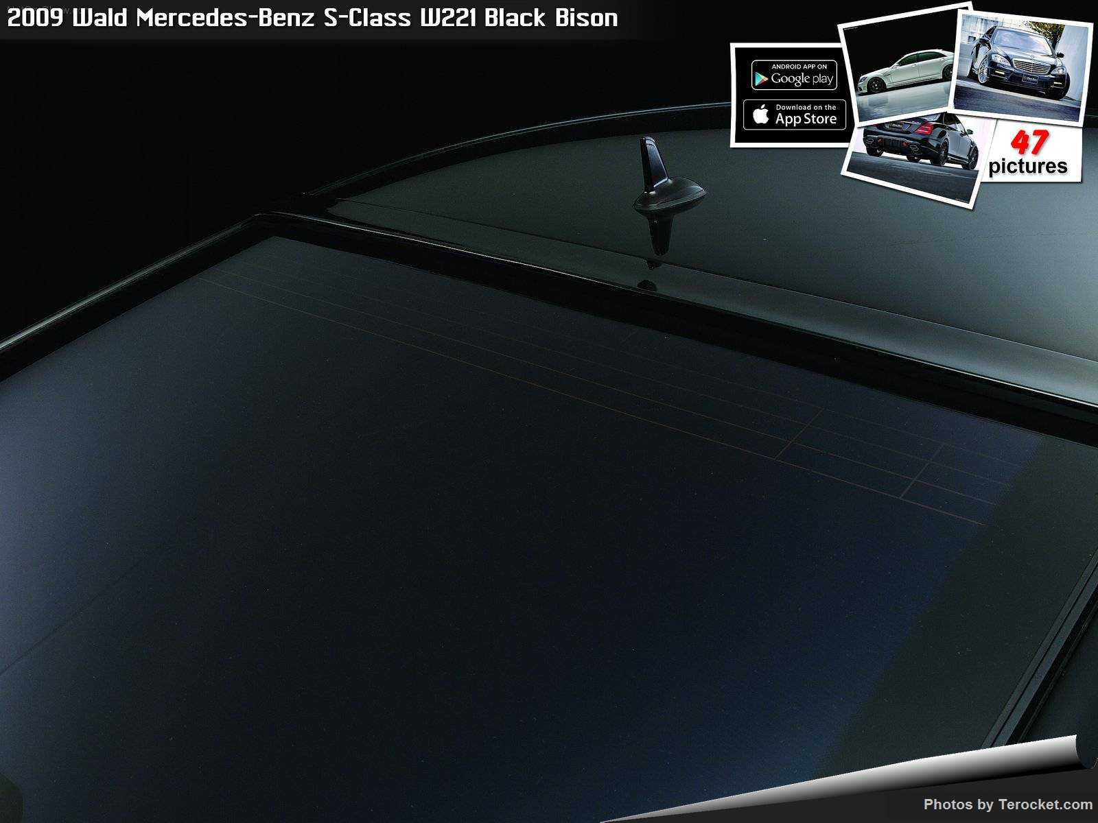 Hình ảnh xe độ Wald Mercedes-Benz S-Class W221 Black Bison 2009 & nội ngoại thất
