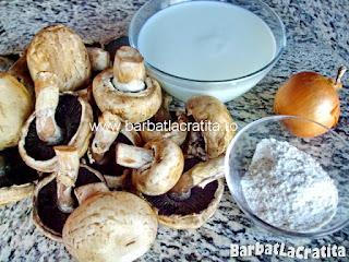 Supa crema de ciuperci ingrediente reteta