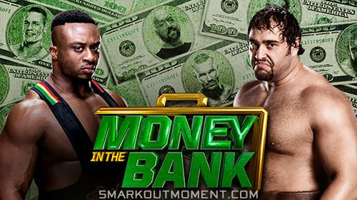 WWE Money in the Bank Rusev defeats Big E via submission