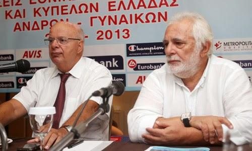 Στην Ισπανία για την απόφαση της FIBA Βασιλακόπουλος και Τσαγκρώνης-«Είμαστε σε καλό δρόμο» δηλώνει ο πρόεδρος της ΕΟΚ
