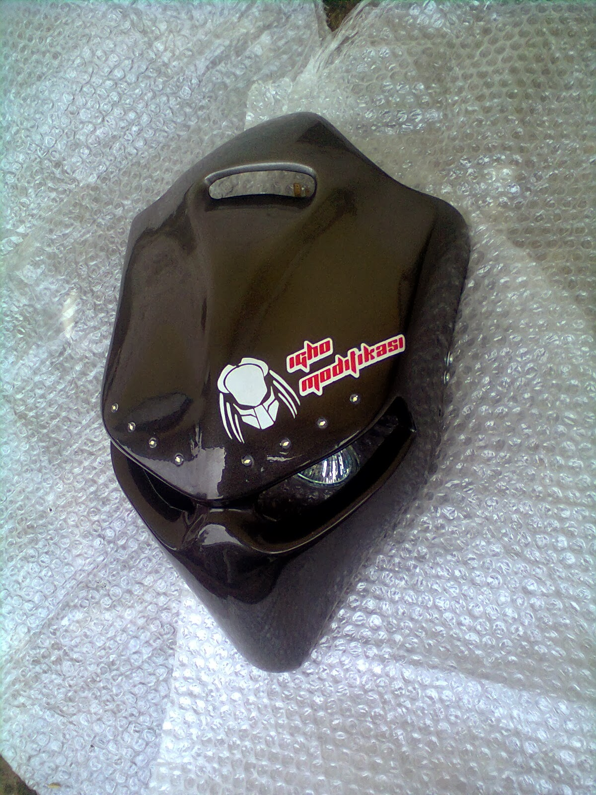 new vixion lightning, modifikasi street fighter, headlamp street title=