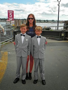 Cara and her beautiful boys