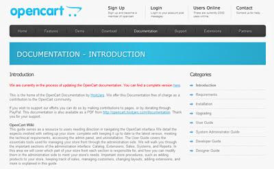 OpenCart Docs