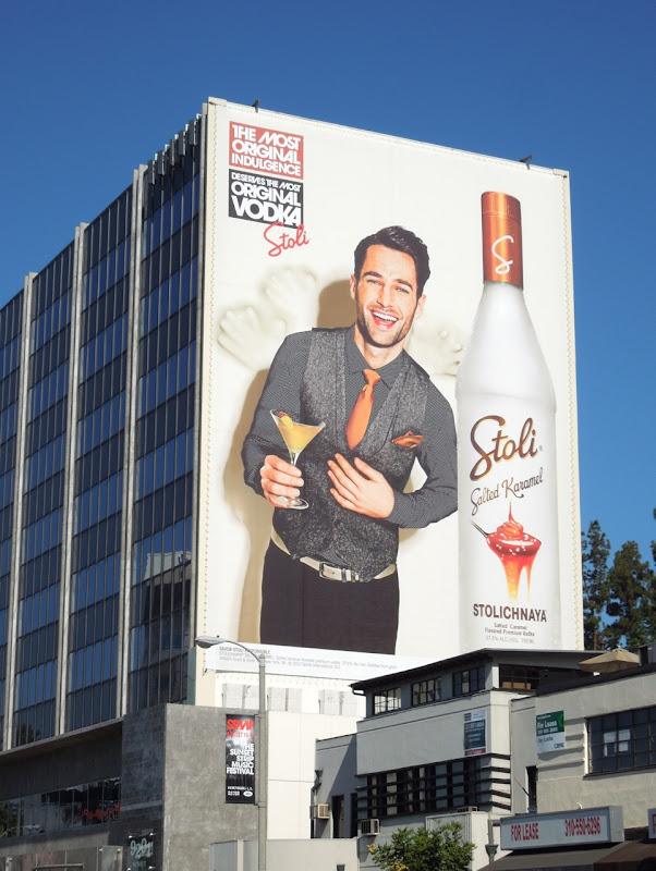 Most Original Indulgence Salted Karamel Stoli Vodka billboard