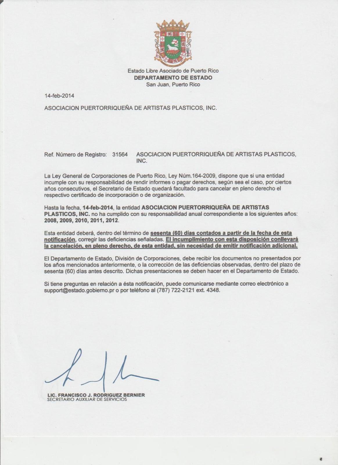 Puerto rico art news blog de arte y cultura confusi n for Registro de la propiedad lugo