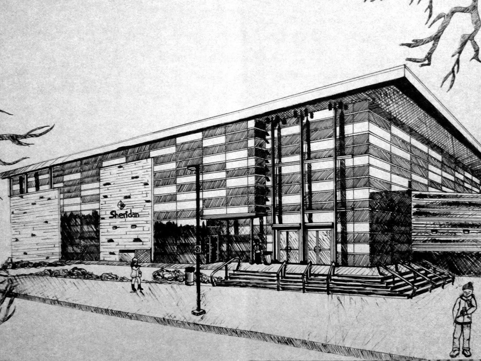 architecture buildings drawings. Anim8r X: Sheridan College - Architecture Drawing Buildings Drawings