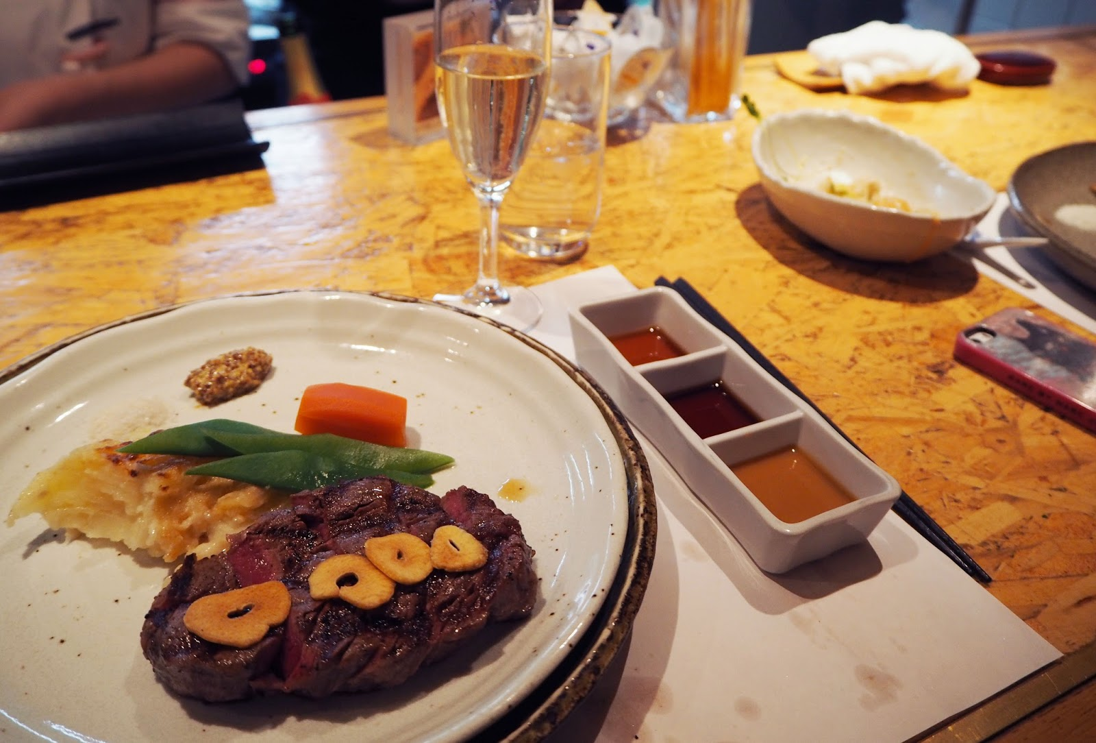 Hafuu Honten Wagyu Steak